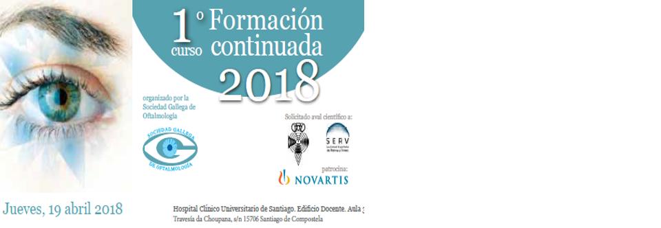 1º CURSO DE FORMACIÓN CONTINUADA 2018