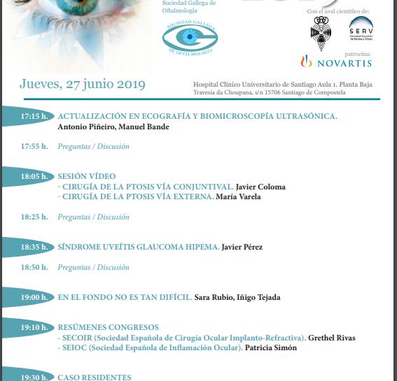 2º CURSO FORMACIÓN CONTINUADA 2019